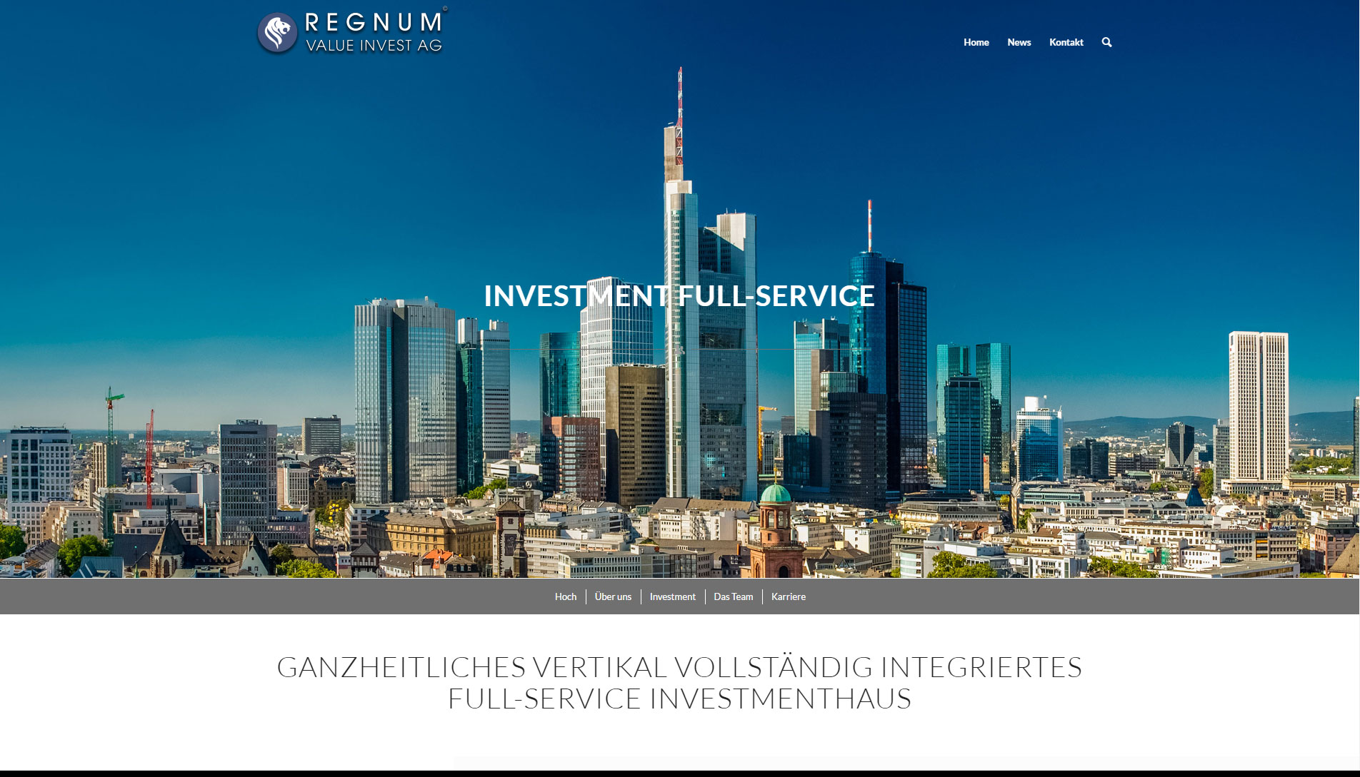 REGNUM VALUE INVEST AG